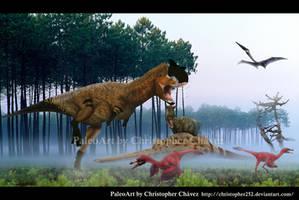 Paisaje Cretacico Argentino ( Sudamerica) by Christopher252