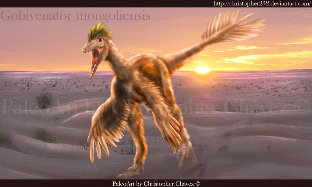 Gobivenator mongoliensis by Christopher252