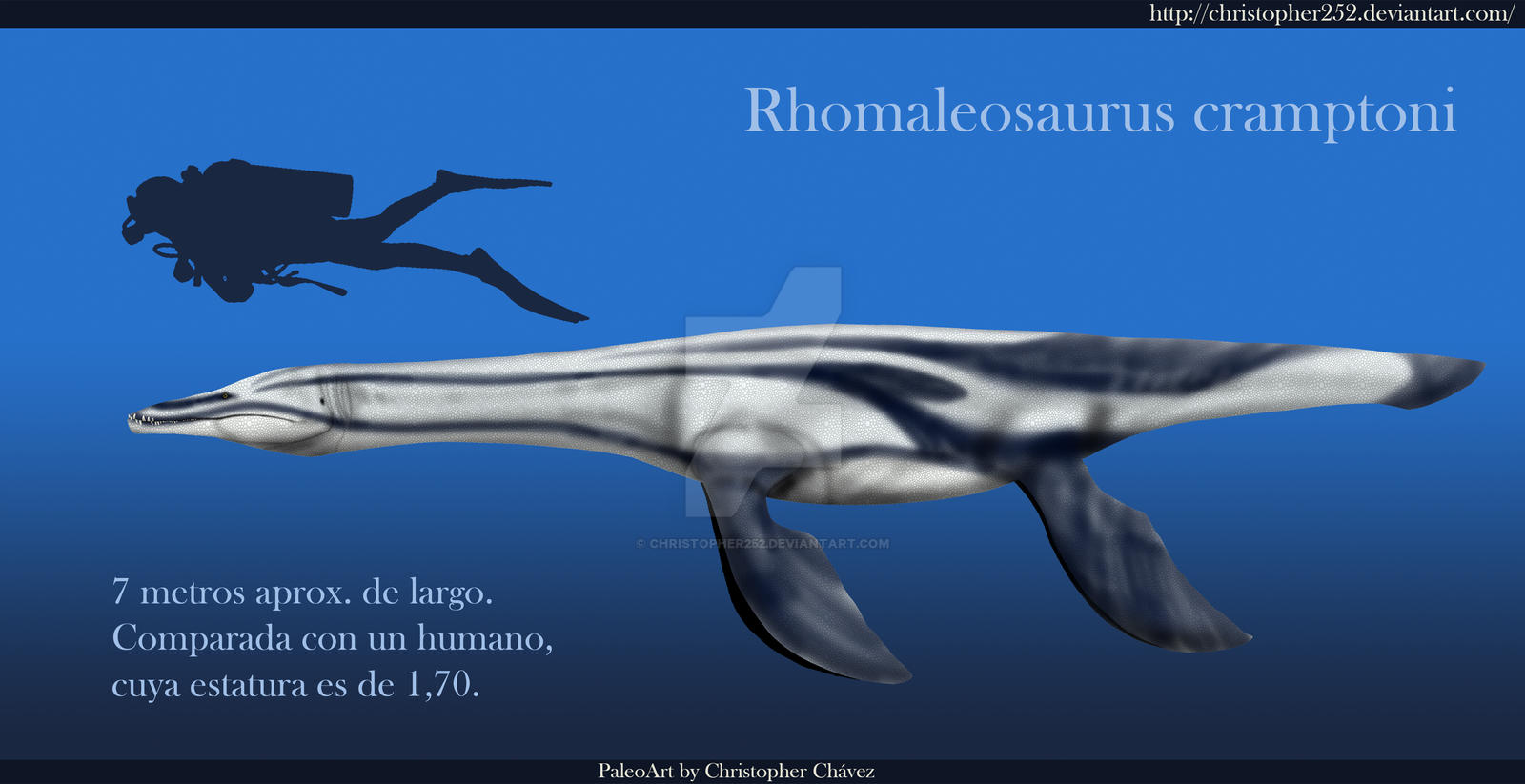 Rhomaleosaurus cramptoni by Christopher252
