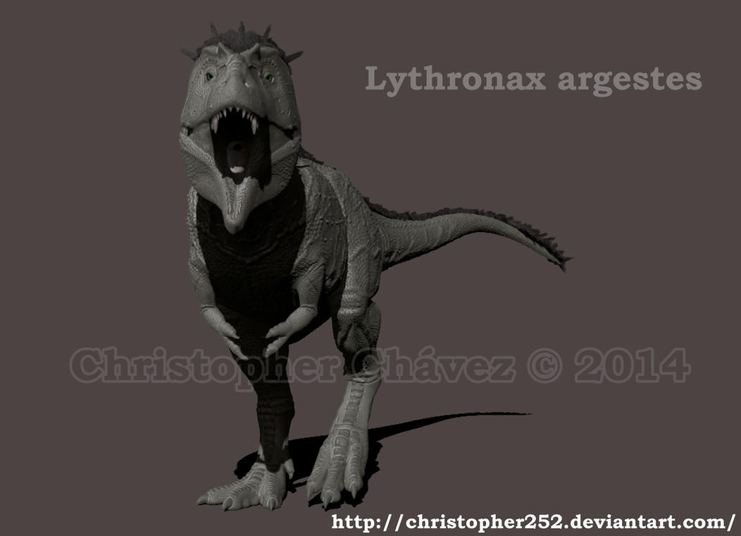 Lythronax argestes 3D by Christopher252