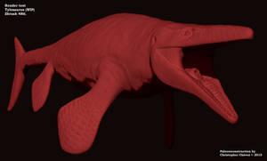 Tylosaurus Zbrush