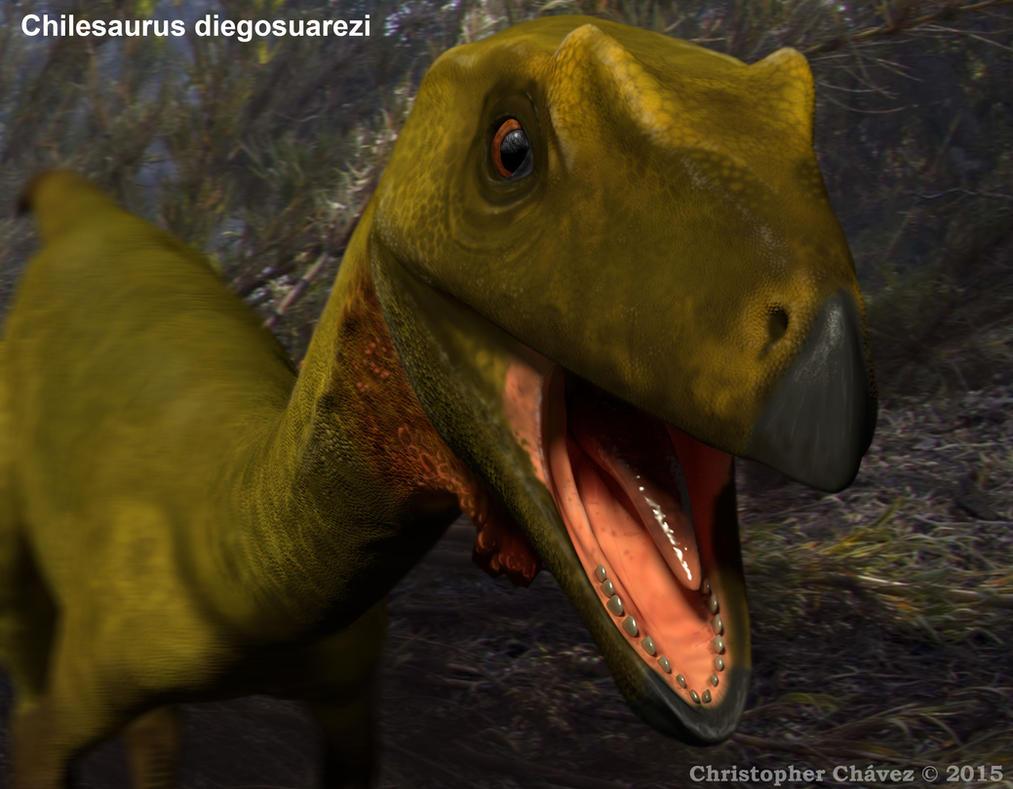 Chilesaurus diegosuarezi by Christopher252