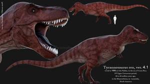 Tyrannosaurus rex ver. 4.1