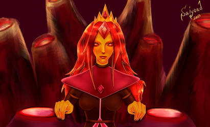Flame Queen by Saiyond