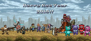 Happy New Year 2019!! by The-Platinum-Egg