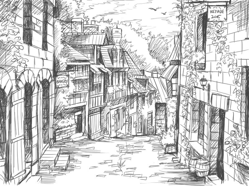 how to draw manga backgrounds