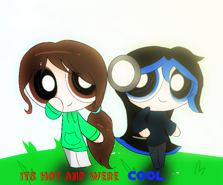Collab its hot and were cool by blucooki on deviantart for Its hot pics