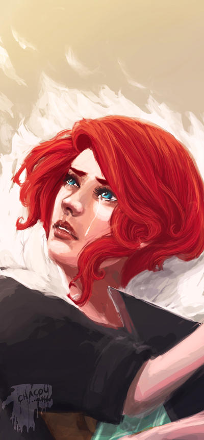 Transistor: Red by Chacou