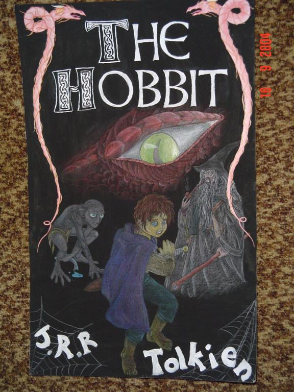 The Hobbit Book Cover Art ~ The hobbit book cover by anonymous dragon on deviantart