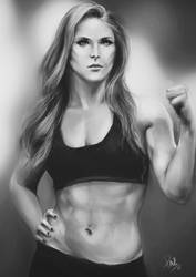 Ronda Rousey by fishglow