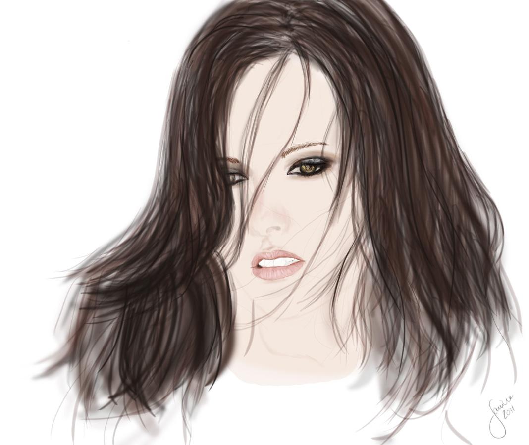 Speedpainting: Kristen Stewart by janine83