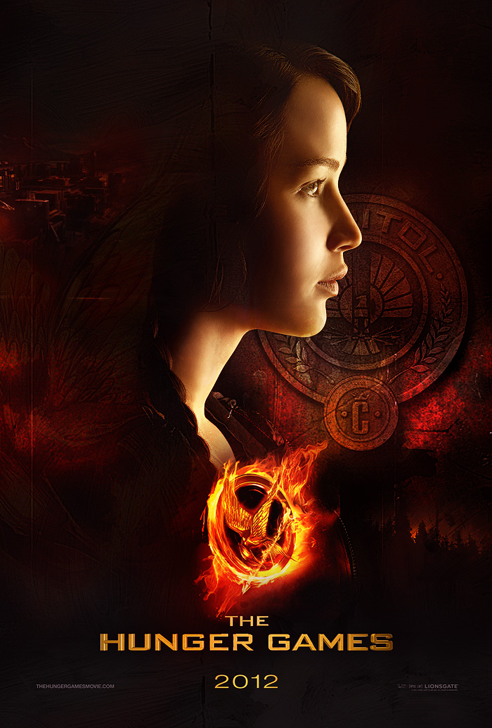 The Hunger Games Poster - Playing With Fire by janine83