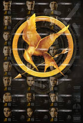 The Hunger Games Poster - Tributes - textless