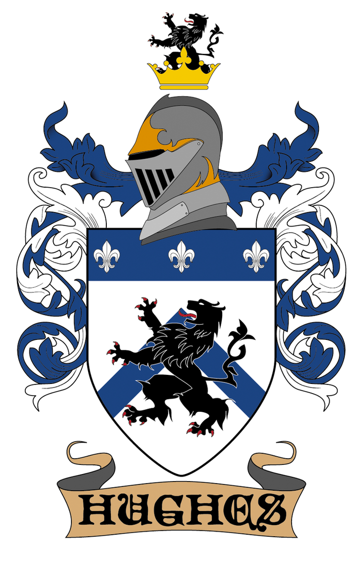 Hughes Family Crest By PopeTiberii On DeviantArt