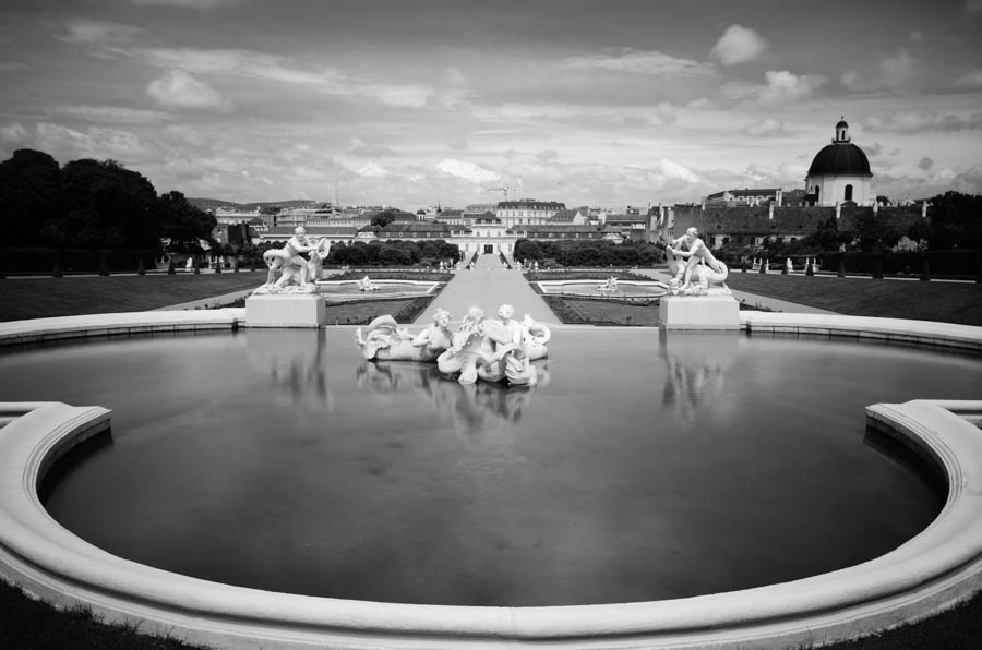 Silent Vienna VI by roarbinson