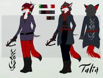 Talia Ref sheet