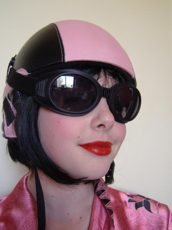 Pink Helmet 4 by sbmdestock