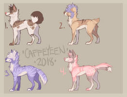 Sketchy adopts by Caffeyeen