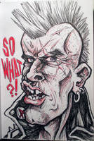 Sketch Bk. So What?! Punk by Trashe-Trav