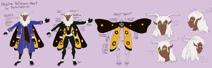 Nepiline Reference Sheet
