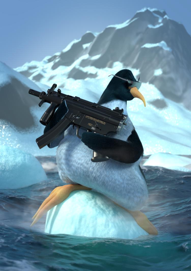 Penguin by RafalKrzanowski