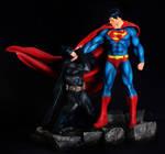 superman vs batman 1:4 scale