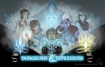 Dungeons and depressions 2 by MrGwynplaine