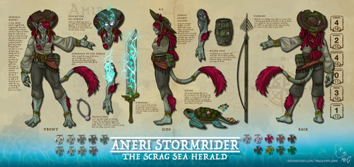 Aneri Stormerider official ref by MrGwynplaine