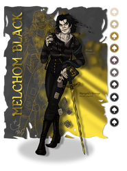 Melchom Black (Casual)