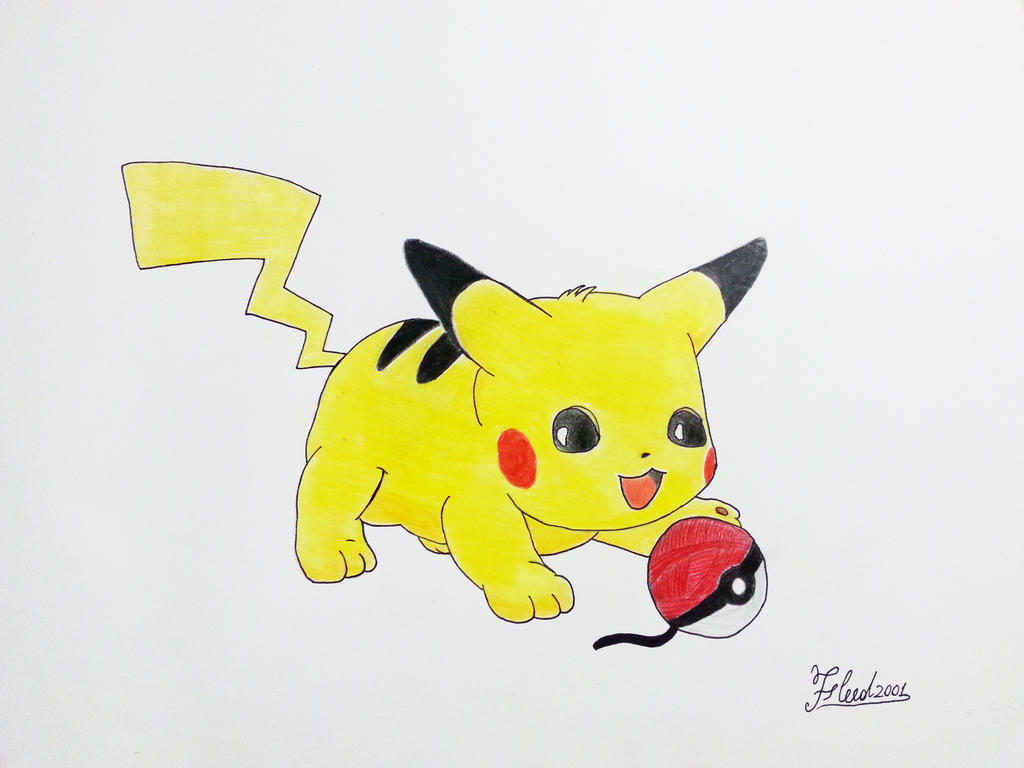 High Quality Baby Pikachu By Fleed2001 ...