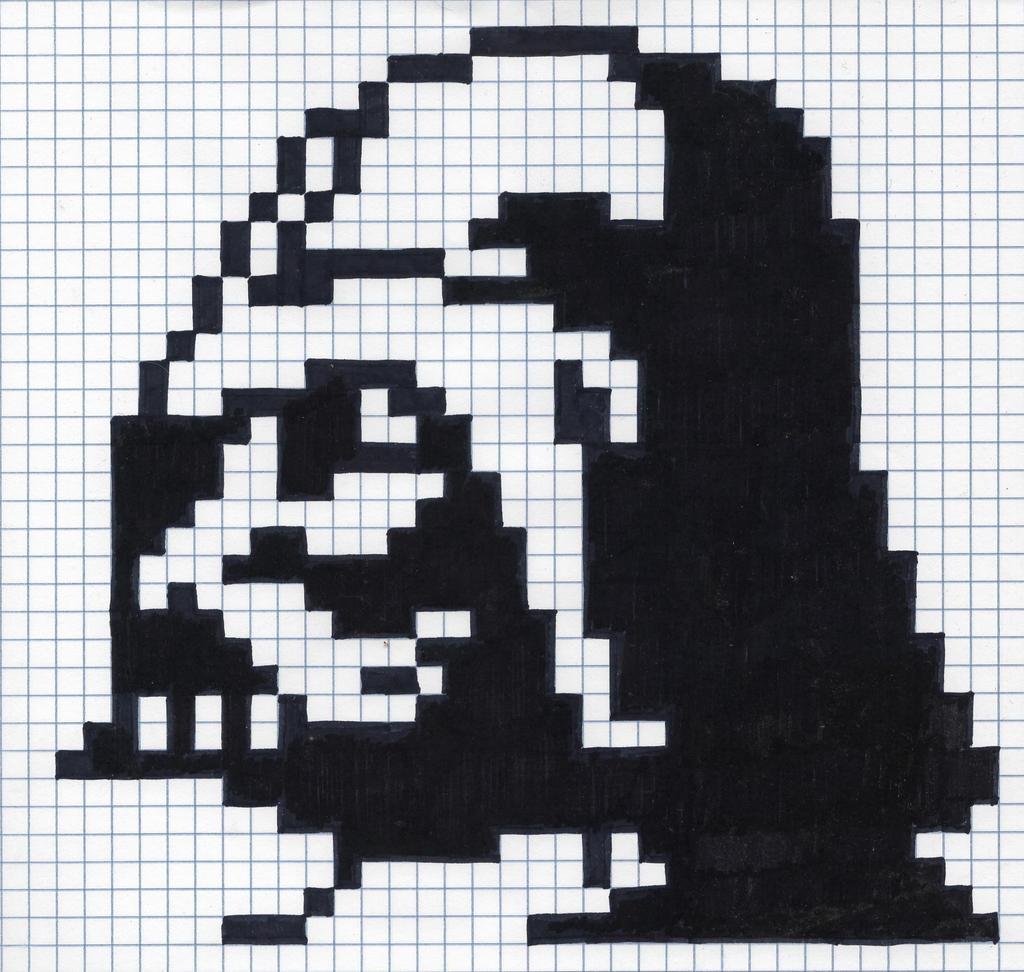 Pixel Darth Vader By Fleed2001 On Deviantart