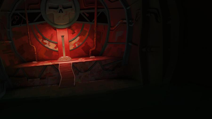 the zombie temple interior by urbanmelon on deviantart