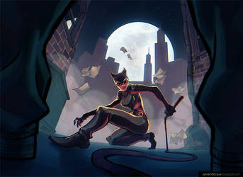 Catwoman by UrbanMelon