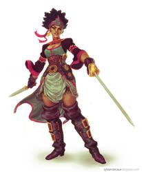 Carribean Pirate Woman