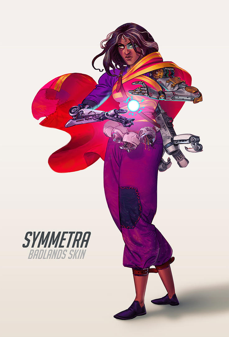 Symmetra fanart from Overwatch by UrbanMelon