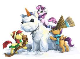 Snowpony by Audrarius