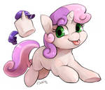 Sweetie Belle and the magical marshmallow