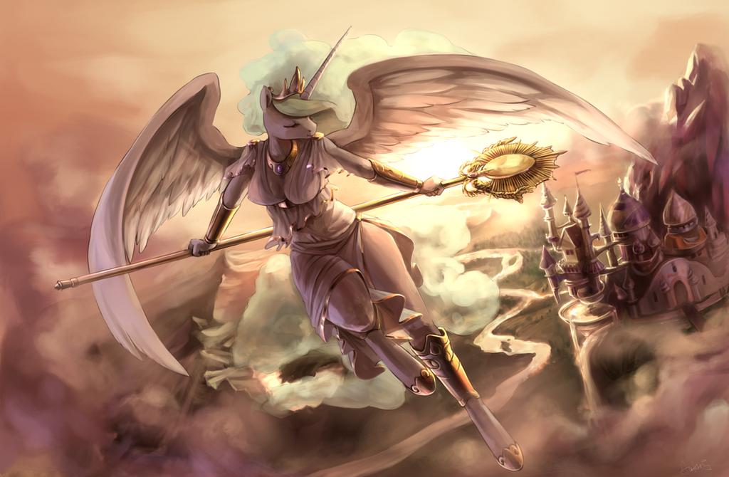 Sun goddess by Audrarius