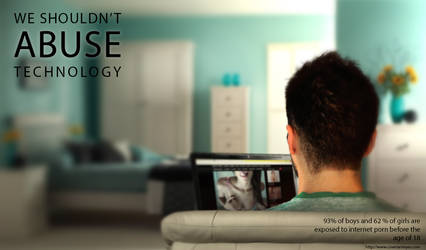 We shouldn't abuse technology
