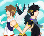 Kid icarus: Pit and Pittoo