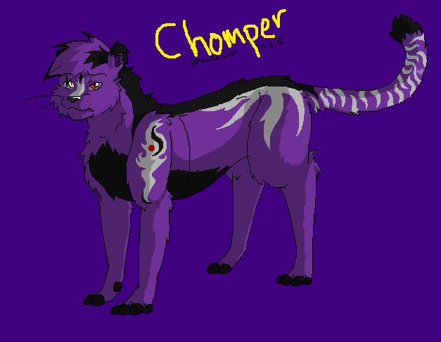 .:Chomper-Pride:. by hakura-lives
