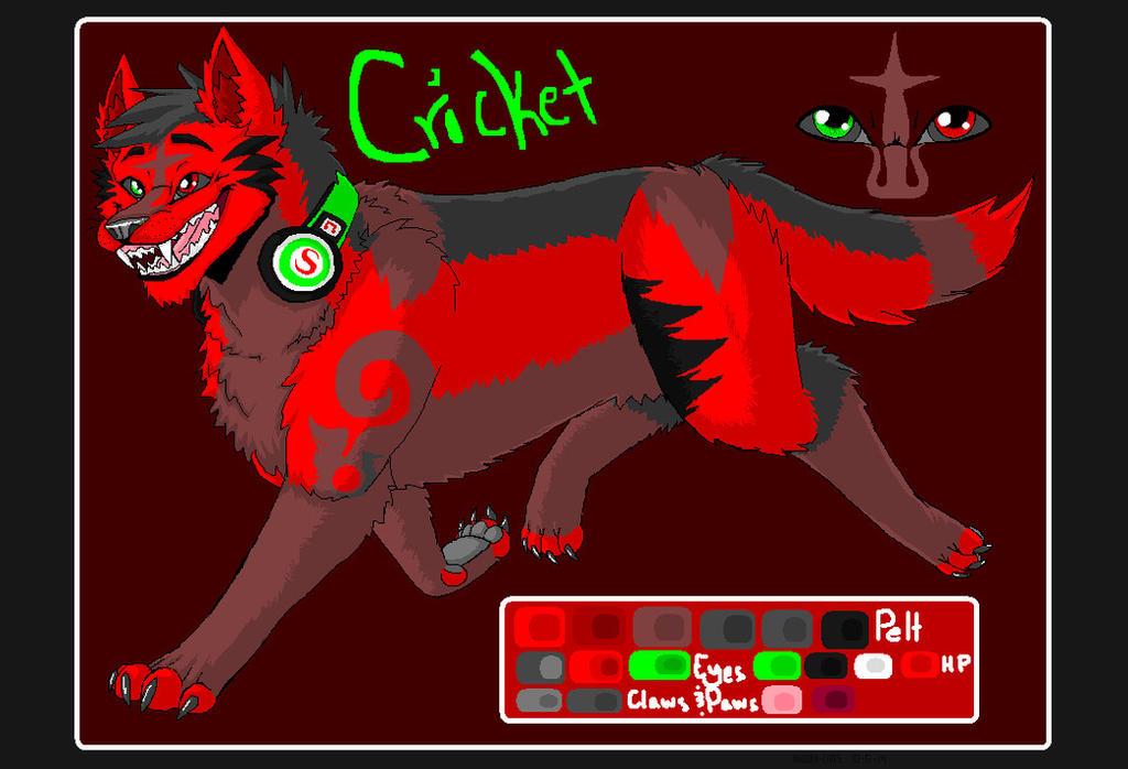 .:Cricket Character Ref:. by hakura-lives