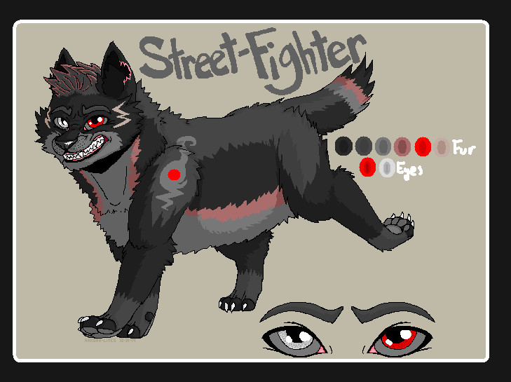 .:Street-Fighter Character Ref:. by hakura-lives