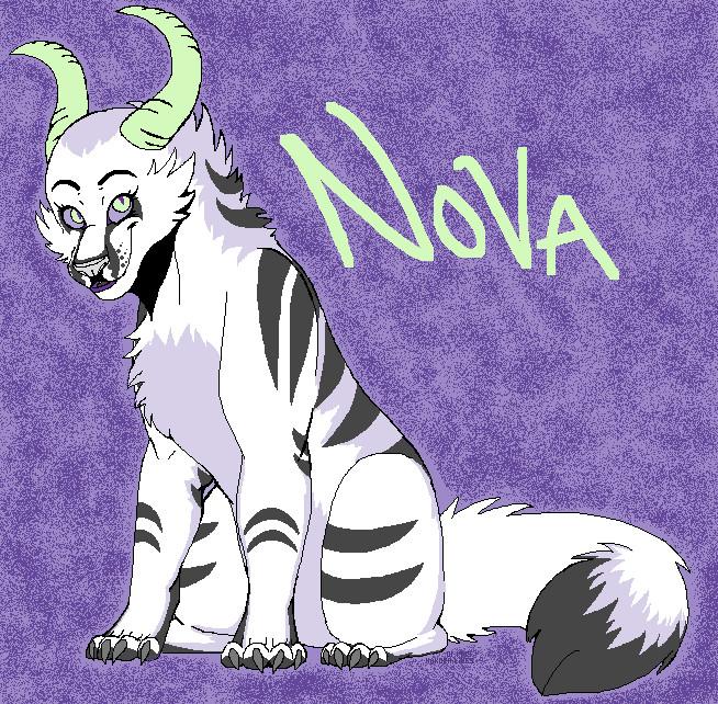 .:Art-trade Nova:. by hakura-lives
