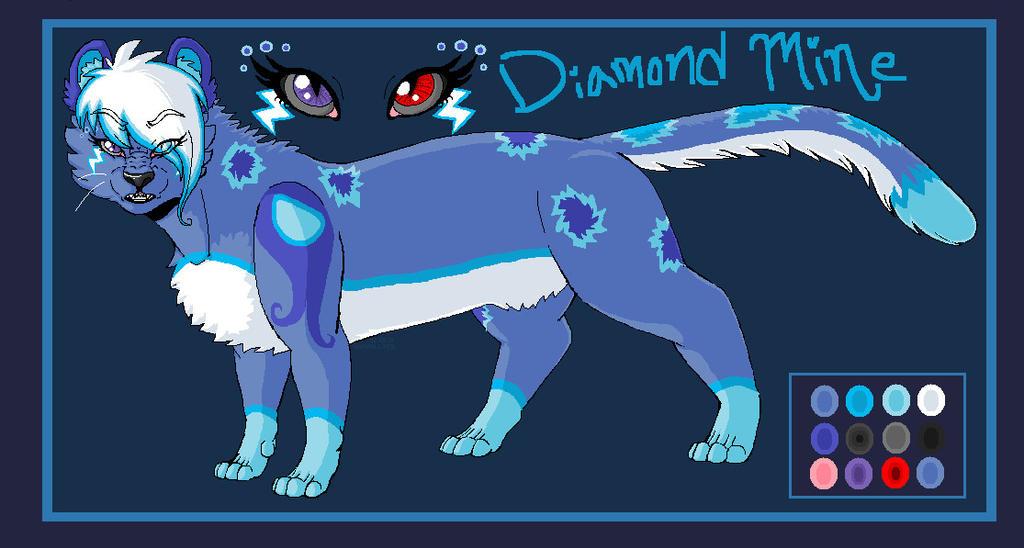 .:Diamond Mine Character Ref:. by hakura-lives