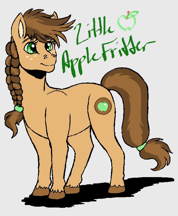 .:Little Apple Fritter:. by hakura-lives