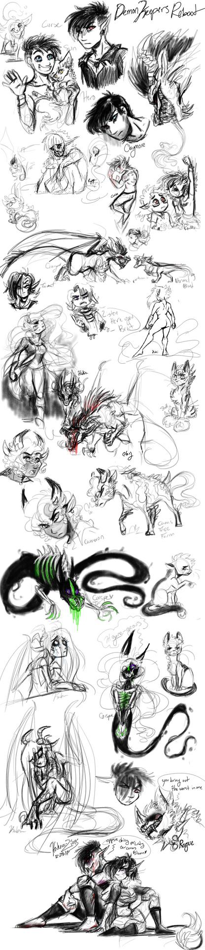 .:Demon Keepers Reboot:. by hakura-lives
