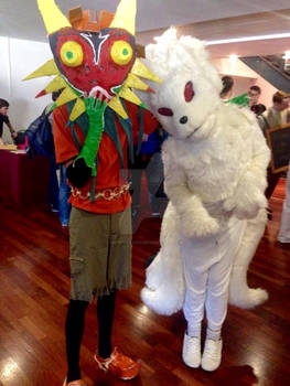 Skull Kid And Nine-Tails At Eirtakon 2014