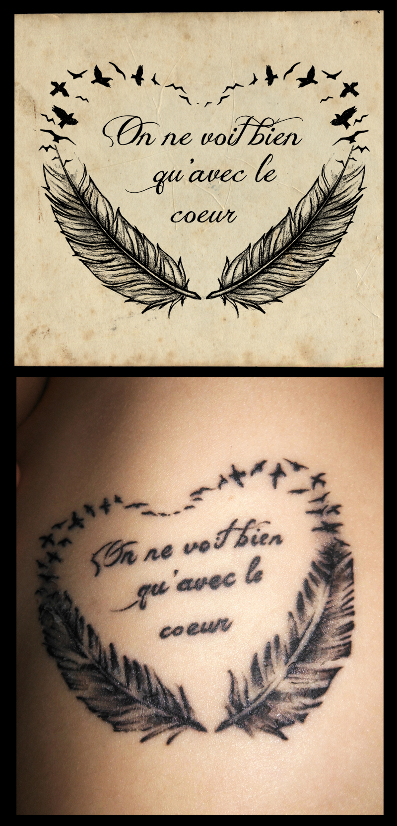the little prince quote tattoo by whitesylver on deviantart. Black Bedroom Furniture Sets. Home Design Ideas