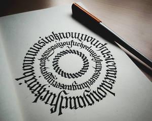 Calligram I